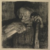 Kthe Kollwitz 1867-1945 Whetting the Scythe, 1905 Etching