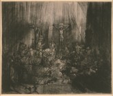 Harmensz van Rijn Rembrandt1606-1669 The Three Crosses, 1653-1654 Drypoint