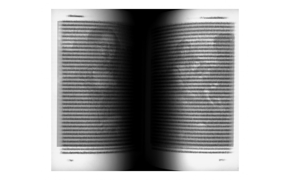 Idris Khan Sigmund Freud's 'The Uncanny', 2006 Digital c-print mounted on aluminium 183.5 x 208.5 cm, 72 1/4 x 82 in