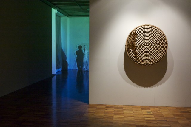 A view of the Dark Matters exhibition. Photo © Liza Lemsatef Cunningham